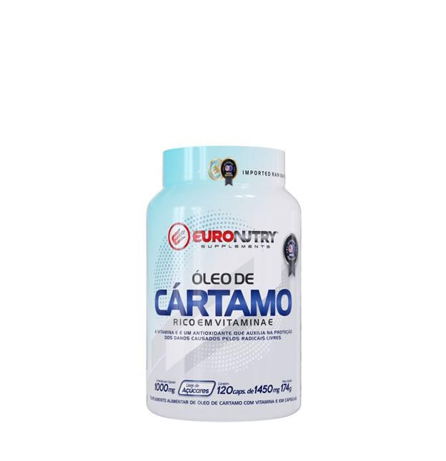 Óleo de Cártamo + VITAMINA E - 120 CÁPSULAS