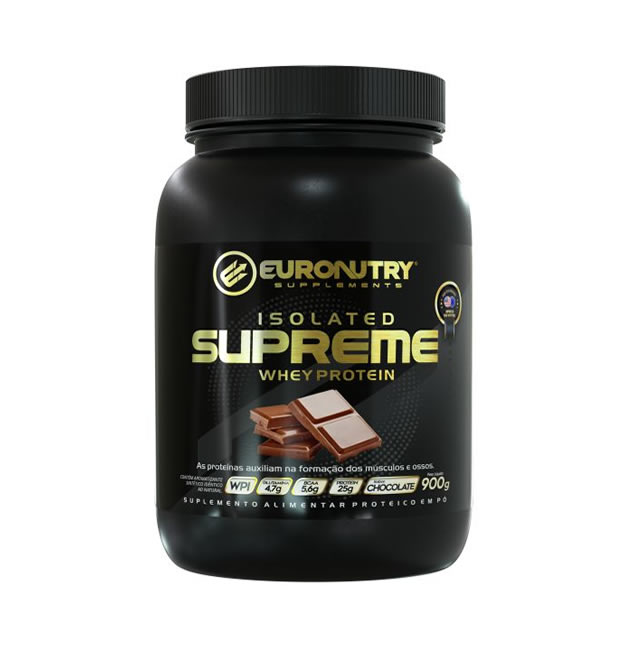 ISOLATED SUPREME WHEY PROTEIN 900G